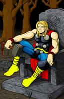 Thor colour by ShamanMagic