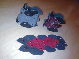 more dragon cuffs by ShamanMagic