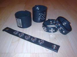 various cuffs by ShamanMagic