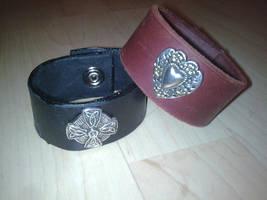 concho cuffs by ShamanMagic