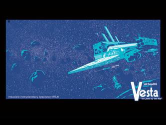 Vesta Spaceport by egypturnash