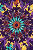 Vectober 4: Mandala by egypturnash