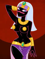 Martian Queen by saberkung