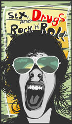 Sex, Drugs and Rock 'n' Roll by jispa