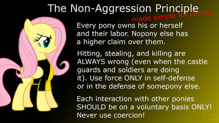 Non-Aggression Principle for Ponies by sonigoku
