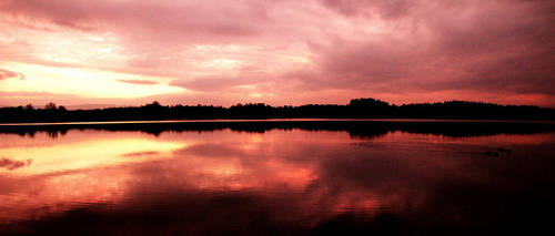 contrasty sunset by Beachrockz4eva
