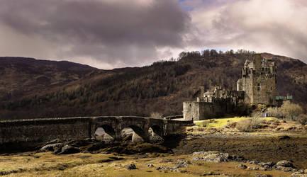 Eilean Donan Castle by Beachrockz4eva