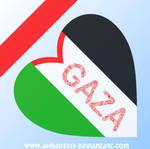 GAZA IN HEART by Ahmad3tkh