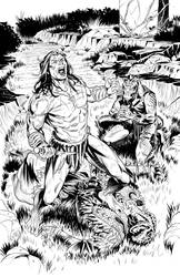 Pathfinder Tarzan one shot p7 by GIO2286