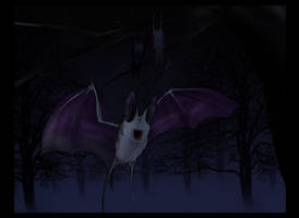 Wings in the night... by JoshuaDunlop