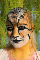 Ocelot makeup by JoshuaDunlop