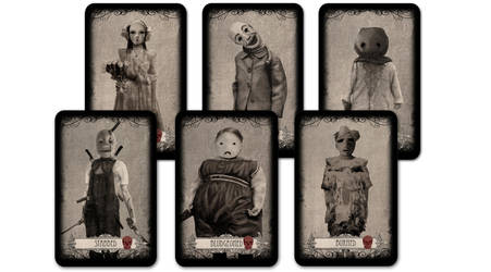 The Damned Children: The Card Game! - The Damned by JoshuaDunlop