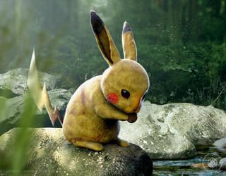 Pikachu by JoshuaDunlop