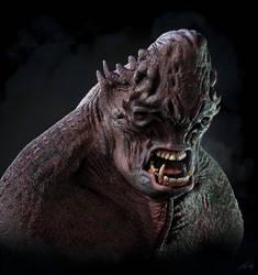 Troll Creature by JoshuaDunlop