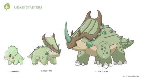 Grass Starters by JoshuaDunlop