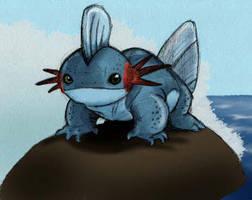 Pocket monsters Evo Mudkip by JoshuaDunlop