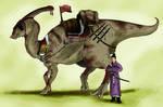 Ancient Japanese Dinosaur by JoshuaDunlop