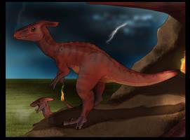 Storms a coming- pokemon evo by JoshuaDunlop