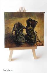 Van Gogh boots by zetsubou-akane