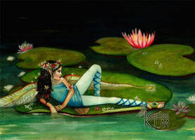 Padme, the waterlily faerie by Iluvfaeries