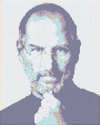 Steve Jobs Applemosaic by gpsc