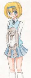 Mascot and Usagi by Meimi132