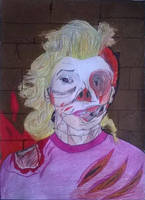 Marilyn Monroe - Zombie mode by ElectricalTomb