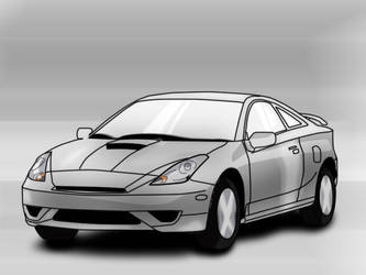Toyota Celica Model by LPArmyMen