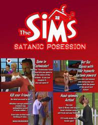 Sims: Satanic Posession by drakesteele