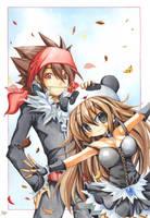 Prinzu and Hopeh by emperpep