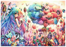 Candy Forest :235 by emperpep