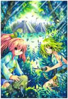 Himeko and Ellie by emperpep