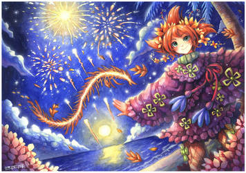 Fairy Oak : Pervinca Periwinkle by emperpep