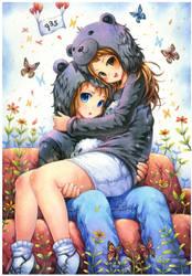 Bear Hug by emperpep