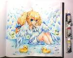 Ducky Girl for Bishakalaka by emperpep