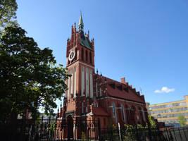 Kirche Zur heiligen Familie by angva