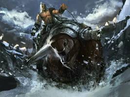 Bull Rider by DismalFreak