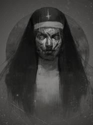 Nun by DismalFreak