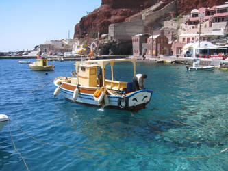 Santorini Sunshine by woAaAow