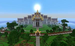 Temple of Serenity by Wooraah