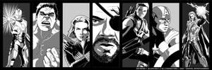 Avengers Assemble by AllenHolt