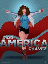 Miss America Chavez by AllenHolt