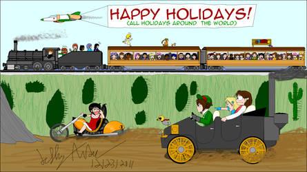 Happy Holidays 2011 by SailorEnergy