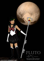 Pluto of old Sailor Moon,Planets of Solar System by SailorEnergy