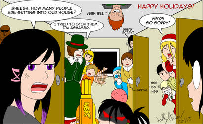How many people in a house Gift for Pheeph by SailorEnergy