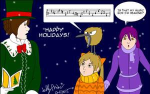 The singing Kiwi?!  For Rocket-Stevo by SailorEnergy