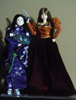 Dolls of Nozomi and Belinda by SailorEnergy