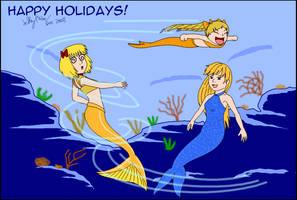 02 Having fun being mermaids for Craig-A-Mcleod by SailorEnergy