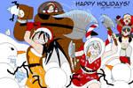 41 Zombie Snowmen for MayreRayne by SailorEnergy