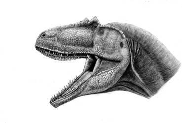 Jurassic predator by Anuperator